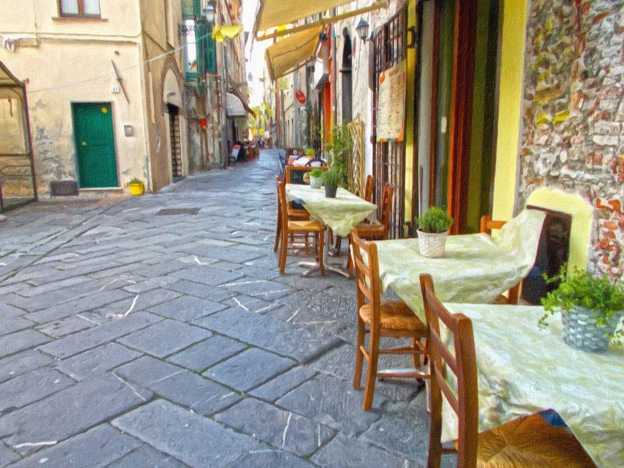 ¿Dónde van a comer los italianos?