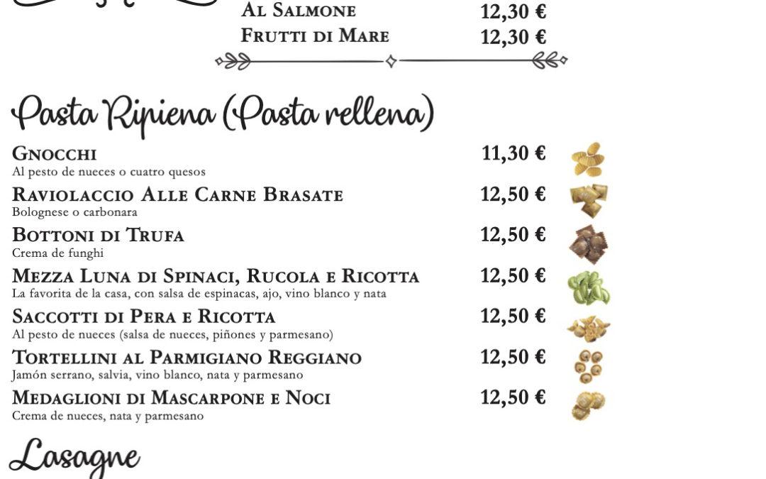 Maridaje de los vinos italianos